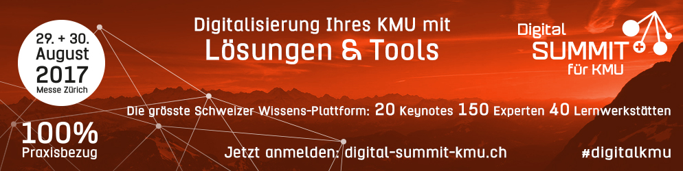 Digital Summit für KMU 2017